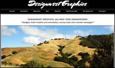 Designwest Graphics Website
